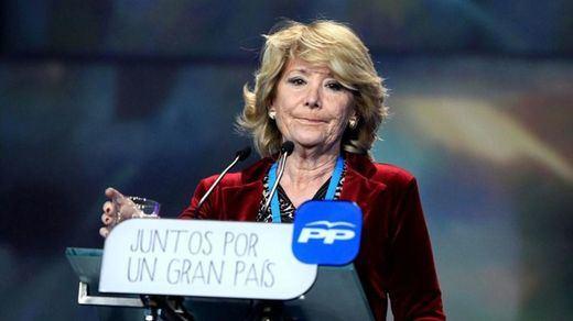 Aguirre por fin reacciona: convoca a la dirección del PP madrileño para analizar los resultados