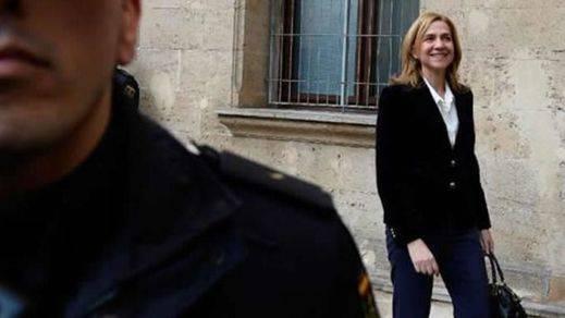 La infanta Cristina sigue teniendo escolta en Suiza y los sindicatos policiales protestan