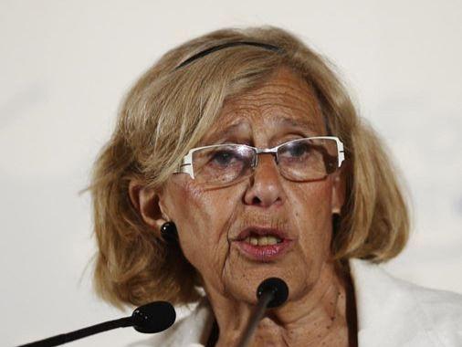 Movimiento Español Venezolano AntiPodemos (MEVA) y 'Salvemos la Democracia' han convocado o una concentración contra la investidura de Manuela Carmena