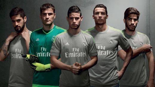 El Real Madrid apuesta por el gris en las equipaciones de la próxima temporada