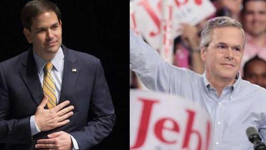 Análisis: todos los candidatos republicanos a la Casa Blanca, donde Jeb Bush es el rey