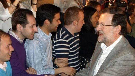 Nuevas Generaciones también presiona a Rajoy ante la
