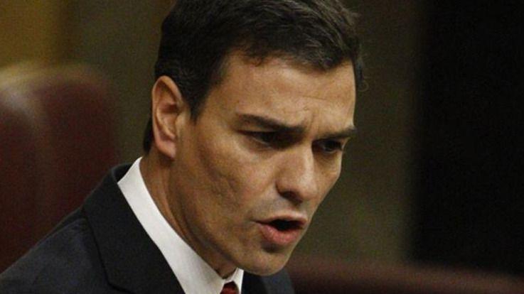 Pedro Sánchez, a Rajoy: 'Puede cambiar el Gobierno, pero el único cambio que esperan los españoles es el suyo'