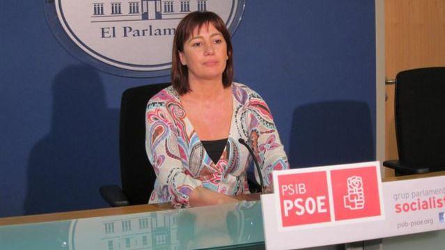 La socialista Francina Armengol presidirá el gobierno balear