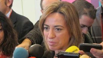 """Chacón lamenta la división de Cataluña y rechaza una """"tercera vía"""" con UDC"""