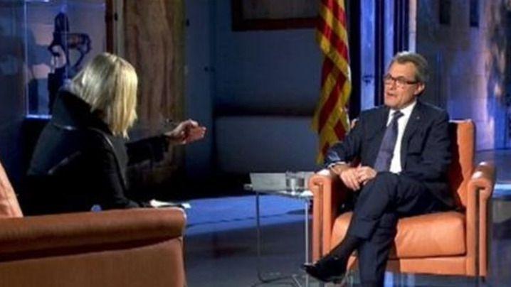 Mas asume que nadie espera 'con los brazos abiertos' a una Cataluña independiente