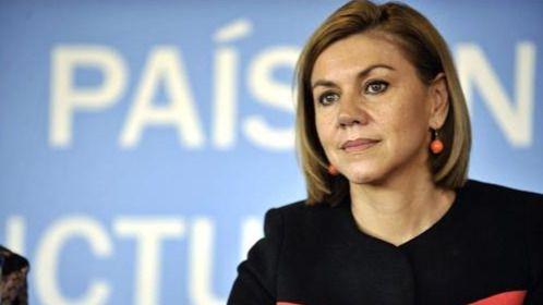 Cospedal dijo 'no' a ser ministra de Educación en sustitución de Wert