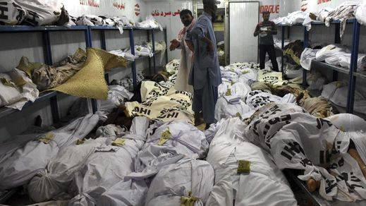 La intensa ola de calor deja alrededor de 700 muertos en el sur de Pakistán
