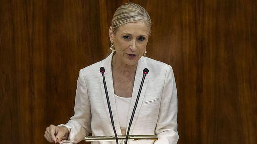 Cifuentes, elegida presidenta de la Comunidad de Madrid con el apoyo de Ciudadanos