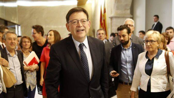 Puig propone un pacto por la viabilidad financiera de la Generalitat valenciana