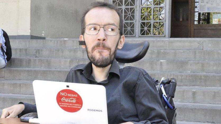 Echenique acusa al PSOE de querer 'descaifenar' las líneas rojas de Podemos en Aragón
