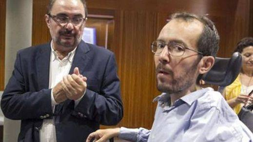 Echenique cede y apoyará la investidura del socialista Javier Lambán en Aragón