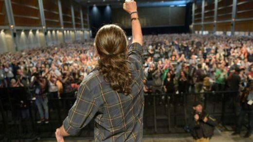 Pablo Iglesias repartió a todos, a los 'viejos izquierdistas' de IU y a la 'burguesía de cobardes' de CiU