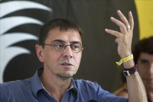 Monedero participará en Toledo en un debate sobre unidad popular