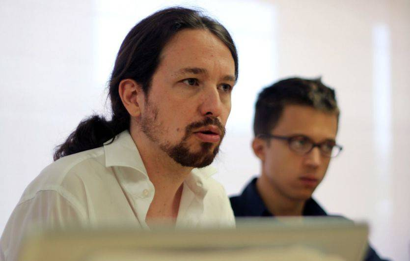 Pablo Iglesias e Íñigo Errejón en el Consejo Ciudadano de este sábado/ Imagen: Dani Gago (Podemos)