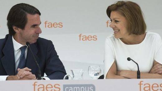 Sarkozy y Cospedal, estrellas invitadas para el 'concierto' de Aznar en el campus FAES