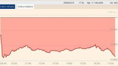 >> La crisis griega hunde la Bolsa: el Ibex 35 sufre la mayor caída desde agosto de 2012