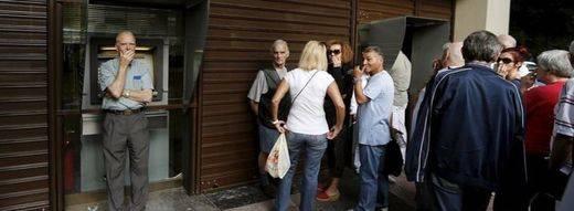 Según un sondeo, los griegos votarán 'no' en el referéndum sobre Europa y el rescate