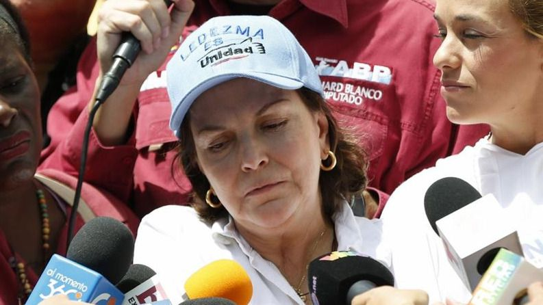 La mujer del opositor venezolano Antonio Ledezma critica a Pablo Iglesias por no aceptar una reunión