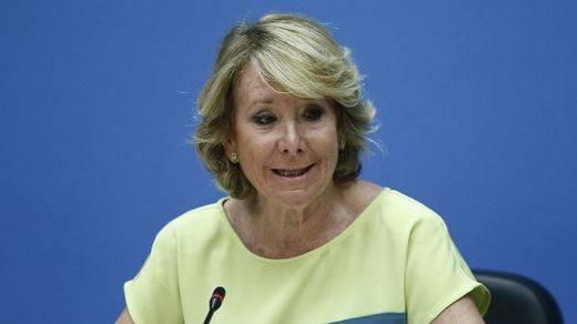 Aguirre presiona a Rajoy para que adelante las elecciones generales y hacer frente a las catalanas