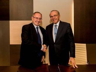 CECA y la C�mara de Comercio de Espa�a acuerdan acciones para favorecer el acceso de las pymes al cr�dito