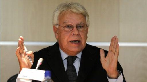 Venezuela dice que Felipe González