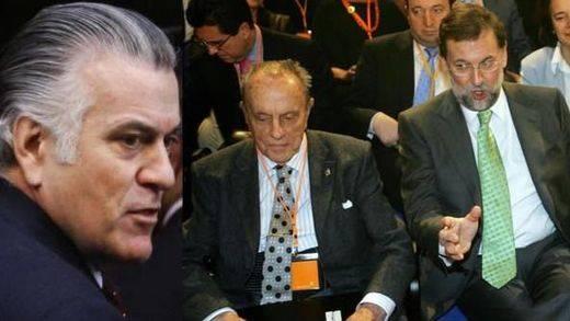 Bárcenas acusa a Fraga, Aznar y Rajoy de ser