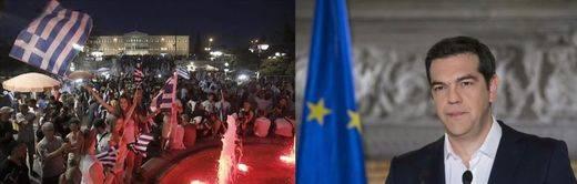 Día 1 después del 'OXI' griego: Tsipras reclama un