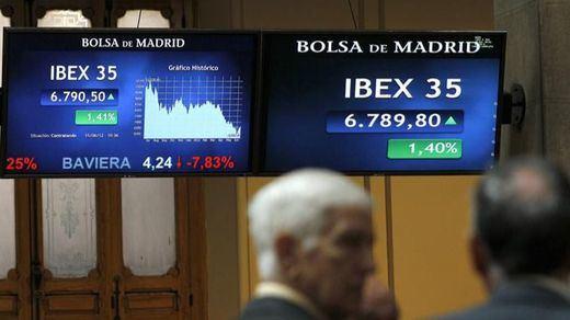 >> El Ibex y la prima de riesgo vuelven a dar malas noticias a media sesión