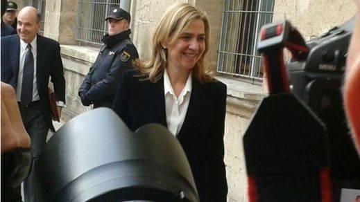 Los que grabaron en vídeo a la Infanta Cristina tendrán que ir a juicio