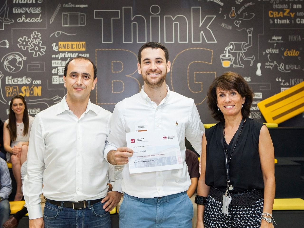 Garage Beacon gana el II Demoday de HUB Emprende