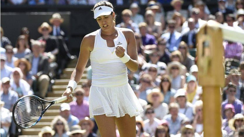 Muguruza 'toma el relevo' de Sánchez-Vicario y se cuela en la final de Wimbledon