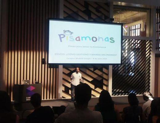 Lleno total en Campus Google de Madrid inspirando a emprendedores para lanzar tiendas online