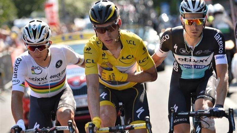 Froome descarta el maillot amarillo tras la retirada del líder, Tony Martin