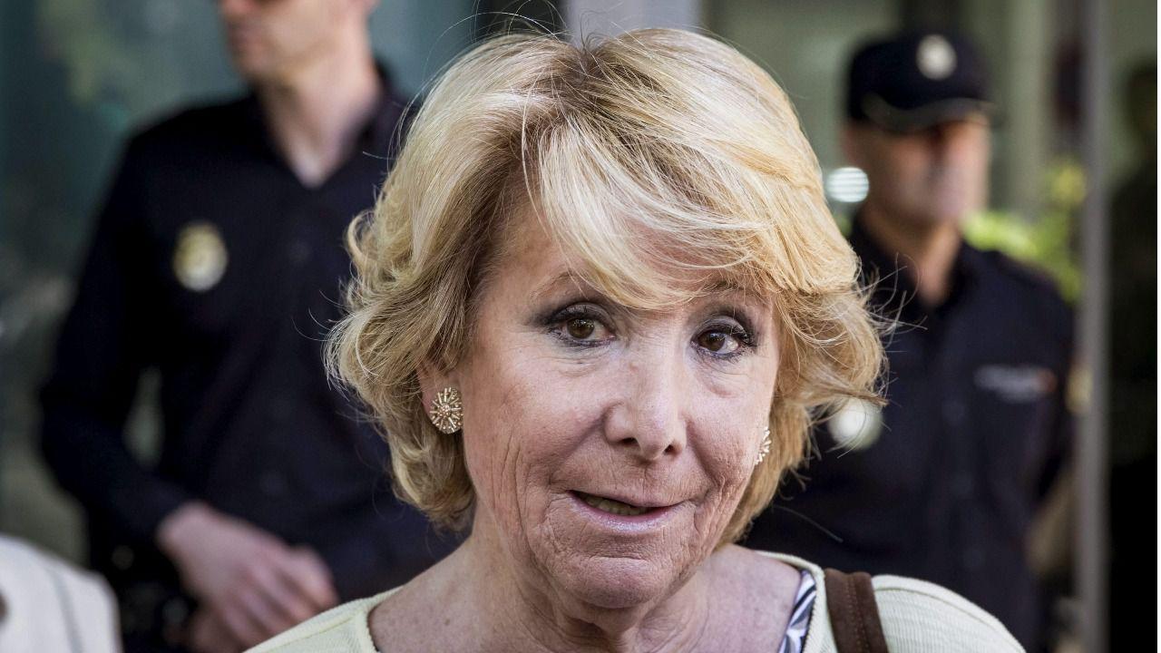 """Esperanza Aguirre """"contra"""" la Ley de Memoria Histórica"""