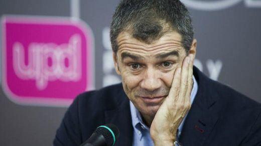 Toni Cantó anuncia su esperada baja de UPyD tras la victoria de Herzog