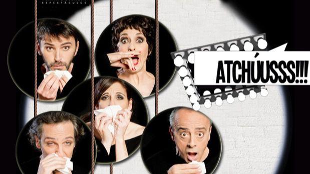'Atchúusss!!!', un montaje estupendo y divertidísimo de Carles Alfaro en La Latina, sobre textos del Chejov más joven