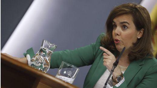 La 'vice' Soraya Sáenz rompe su silencio en 'Cuatro' y niega que quiera ser presidenta