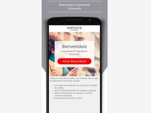 Santander Universidades y Openbank lanzan la aplicación 'Openbank University'