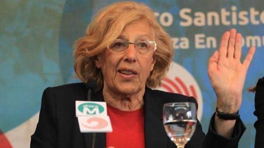 Asociaciones de periodistas y la oposición piden a Carmena que retire la web de 'desmentidos'