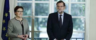 Rajoy, m�s tajante imposible con Mas: