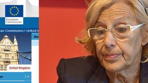 El equipo de Carmena se basó en la web de la Comisión Europea en Reino Unido, 'Euromyths', para su 'Madrid Versión original'