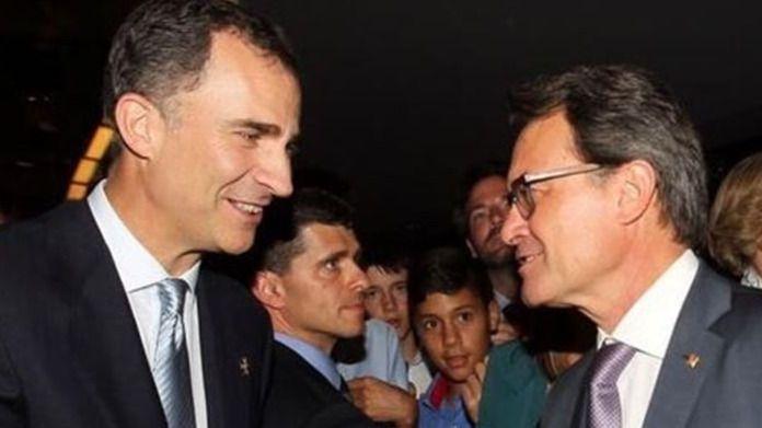 La reunión más tensa: el Rey recibe hoy a Mas con la independencia de Cataluña en marcha