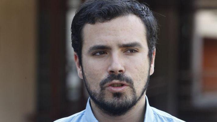 Alberto Garzón aclara su estrategia: podría ser el cabeza de lista de 'Ahora en Común'