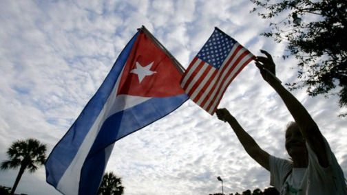 Otra imagen histórica llegará hoy: la bandera de Cuba volverá a ondear en Washington