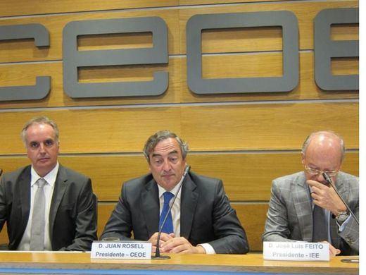 CEOE ve en el adelanto de la rebaja del IRPF y otras medidas el fin de la austeridad presupuestaria