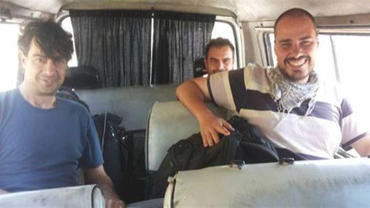 Los periodistas españoles fueron vistos por última vez en el casco antiguo de Alepo