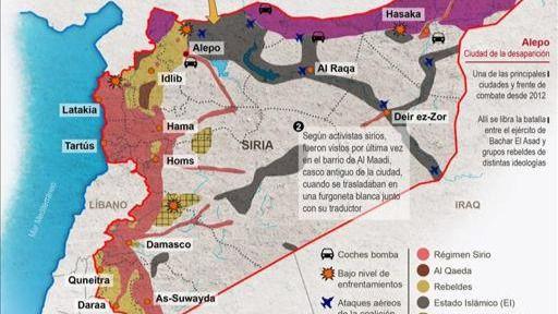Rescate en Siria:
