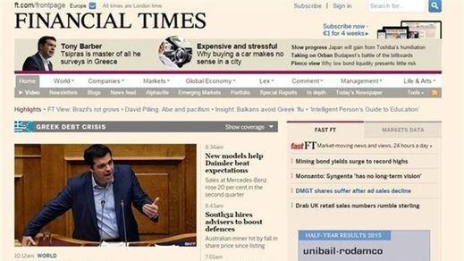 El famoso diario económico 'Financial Times' pasa a manos japonesas
