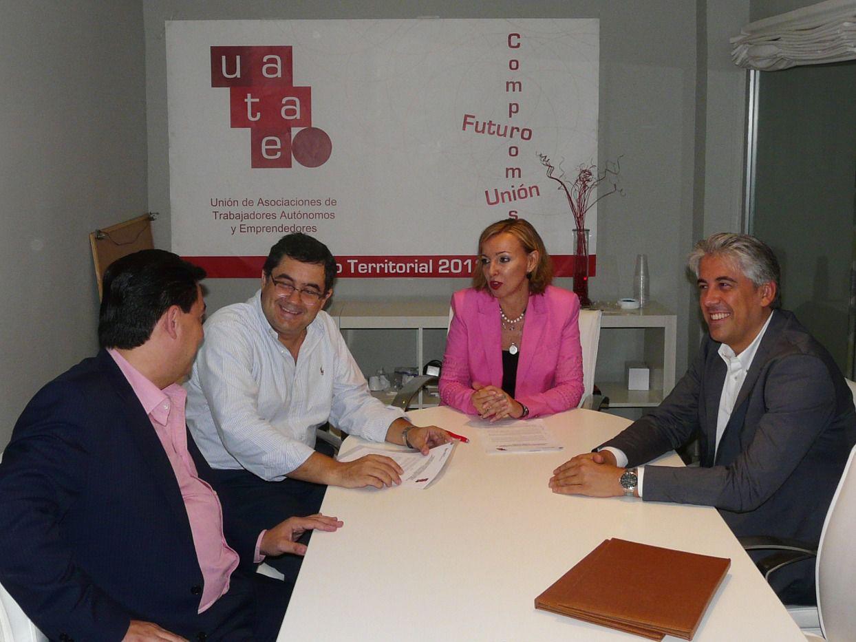 UATAE y la Fundación Laboral de la Construcción firman un acuerdo para impulsar la formación de los autónomos